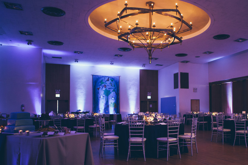 Riverdale Temple ballroom in the Bronx, NY