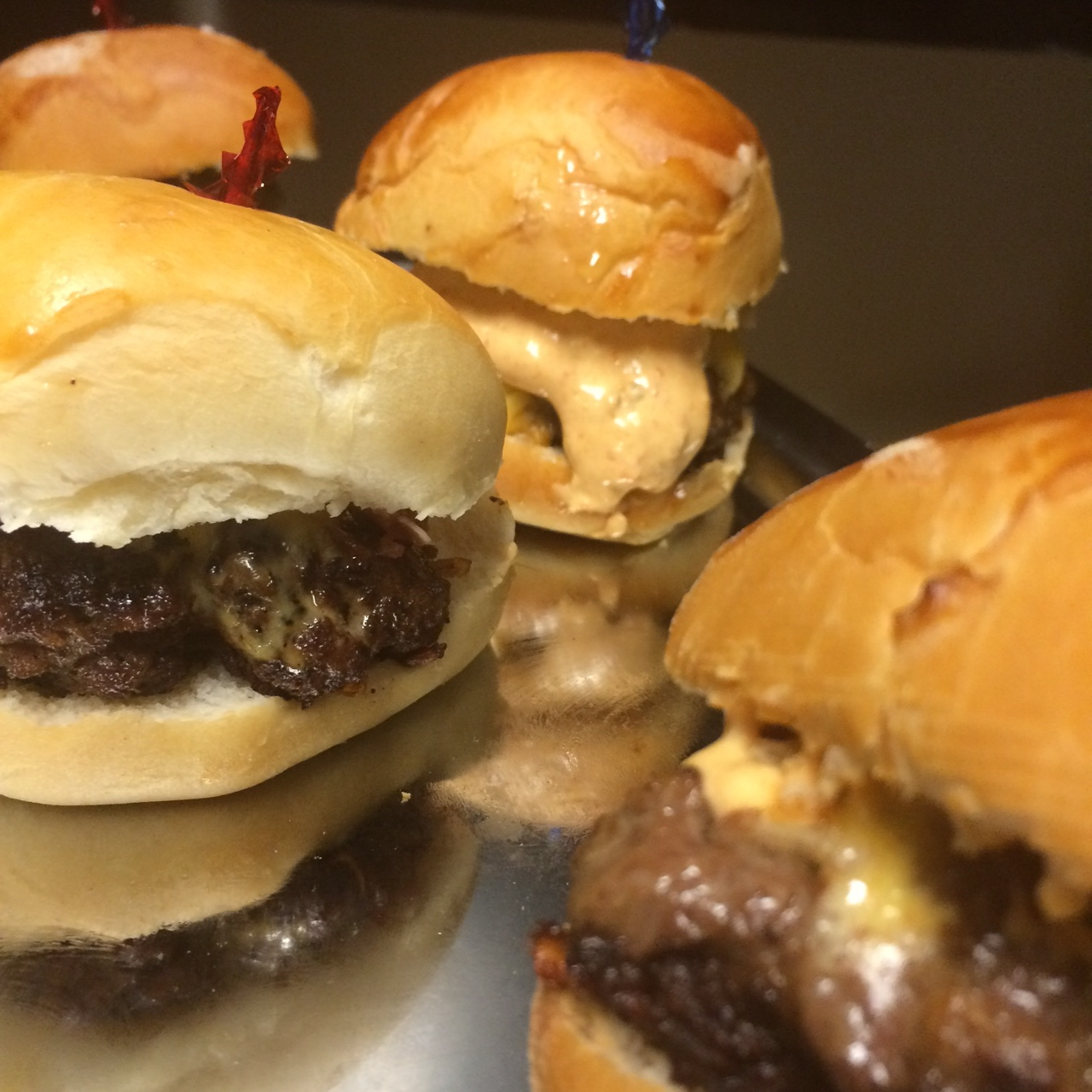 The Sliders with Chipotle Aioli